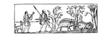 Swine Hunting, 9th Century Giclee Print
