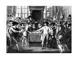 Expulsion of Members by Cromwell, 1653 Giclee Print by Benjamin West