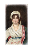 Sarah Siddons, 18th Century English Tragic Actress Giclee Print by Thomas Gainsborough