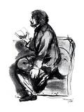 Alfred Tennyson, Lst Baron Tennyson (1809-189), English Poet, 1855 Giclee Print by Dante Gabriel Rossetti