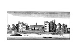 Lambeth Palace, London, 1647 Lámina giclée por Wenceslaus Hollar