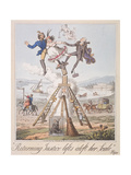 Returning Justice Lifts Aloft Her Scale, 1821 Giclee Print by Theodore Lane