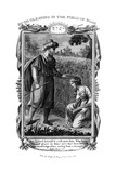 Ruth Gleaning in the Field of Boaz, C1804 Giclee Print