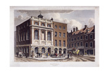 Borough High Street, Southwark, London, 1815 Giclee Print by George Shepherd