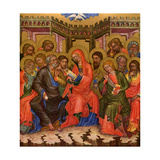 Descent of the Holy Ghost, C1350 Giclee Print