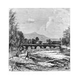 Kabul River, Afghanistan, 1895 Giclee Print