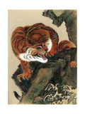 Tiger, 1803 Giclee Print by Kiuho Toyei