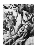 Odin (Wota), Norse God, C19th Century Giclee Print
