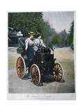 A Petrol-Powered Phaeton, 1896 Giclee Print by  Goupil
