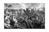 The Battle of Ferozeshah, India, 1845 Giclee Print