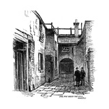 The Fox under the Hill Public House, Adelphi, Westminster, London, 1887 Giclee Print