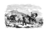 New Ambulance Transport Service, 1855 Giclee Print