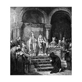 Canossa, 1878 Giclee Print by Alfred Jean Andre Cluysenaar