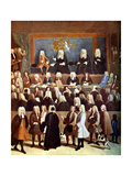 The Court of Chancery in the Reign of George I, 18th Century Giclee Print by Benjamin Ferrers