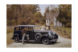 Poster Advertising Rolls-Royce Cars, 1939 Giclee Print