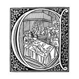 Illustration from Boethius' De Consolatione Philosophiae, 1498 Giclee Print