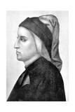 Dante Alighieri, Italian Florentine Poet Giclee Print by  Giotto