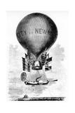 Professor Lowe's Balloon, C1859 Giclee Print