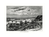 Koblenz and Festung Ehrenbreitstein, Germany, 1879 Giclee Print by Charles Barbant