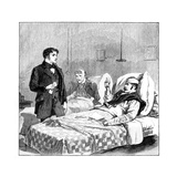 The Wounded Soldier's Toast to the Queen, C1850s Giclee Print