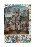 Siege of the Fortress of Faith Giclee Print