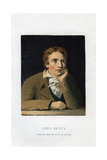 John Keats, English Poet, 19th Century Giclee Print by Joseph Severn