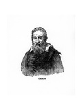 Galileo Galilei, Italian Physicist, Astronomer, and Philosopher Giclee Print