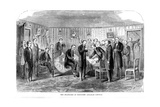 The Death-Bed of President Abraham Lincoln, 1865 Giclee Print