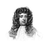 Sir William Petty, 17th Century English Economist, Scientist and Philosopher Giclee Print