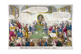Specimens of Liberality Towards Self!!, 1809 Giclee Print by Isaac Cruikshank