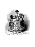 Sewing Machine by Isaac Merritt Singer, 1880 Giclee Print