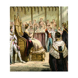 Coronation of Victoria, 1837 Giclee Print