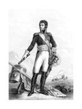 Jean Baptiste Jules Bernadotte (1763-184) French Revolutionary Soldier Giclee Print by Francois Josephe Kinson
