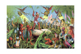 Scene from Shakespeare's a Midsummer Night's Dream, C1858 Giclee Print