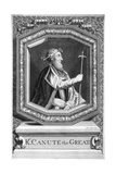King Canute the Great Giclee Print by  Smith