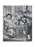 Stockjobbers at the Stock Exchange, Bartholomew Lane, London, C1795 Giclee Print by Robert Dighton