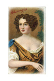 Nell Gwynne, English Comic Actress and Mistress of Charles II Giclee Print by Peter Lely