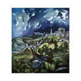 Toledo, Spain, 1597-1599 Giclee Print by  El Greco