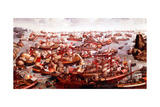 Battle of Lepanto, October 1571 Giclee Print