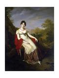 Portrait of Joséphine De Beauharnais, 1812 Giclee Print by Firmin Massot