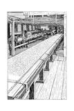 The Chintz Printing Room, Merton Abbey Mills, London, 1899 Giclee Print