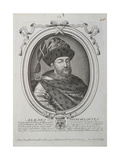 Portrait of the Tsar Alexis I Mikhailovich of Russia (1629-167), Second Half of the 17th Century Giclee Print by Nicolas de Larmessin