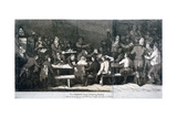 The Robbing Hood Debating Society, 1809 Giclee Print by Samuel de Wilde
