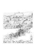 View of London, 16th Century Giclee Print by Anthonis van den Wyngaerde