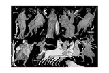 The Death of Hippolytus, 4th Century BC Giclee Print
