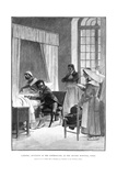 Rene Theophile Hyacinthe Laennec, French Physician Who Invented the Stethoscope, 1889 Giclee Print