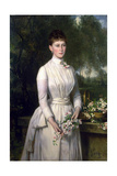 Portrait of Grand Duchess Elizaveta Fyodorovna, 1885 Giclee Print by Carl Rudolph Sohn