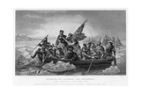 Washington Crossing the Delaware, 1776 Giclee Print by Emanuel Gottlieb Leutze