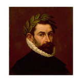Portrait of the Poet Alonso De Ercilla Y Zuniga, (1533-159), Between 1576 and 1578 Giclee Print by Dominico El Greco