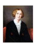 George Eliot as a Young Woman, C1840 Giclee Print
